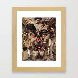 Glutton Framed Art Print