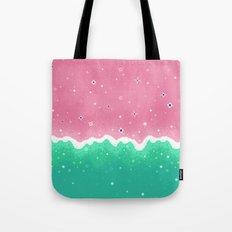 Summer Sweets: Watermelon Galaxy Tote Bag