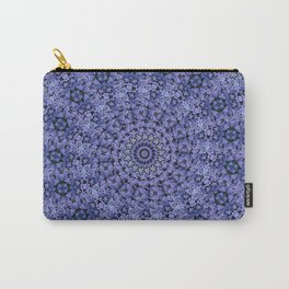 Purple Sprials Carry-All Pouch