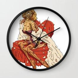 Pin up Zombie 01 Wall Clock