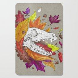 Fox Skull Cutting Board