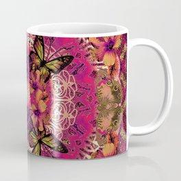 Victoria Mandala Collage Coffee Mug