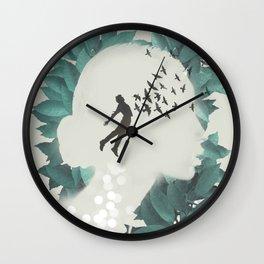 RISING Wall Clock