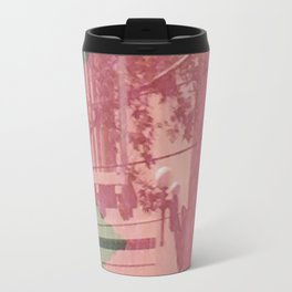 feeling pink on chapel street Travel Mug
