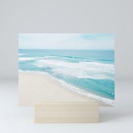 Lonely Beach Mini Art Print