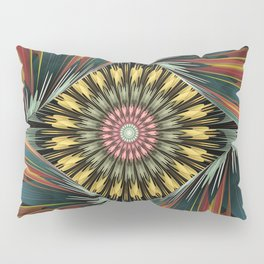 Peeping in, artistic floral design Pillow Sham