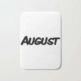 August Bath Mat
