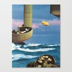 the hanging gardens Canvas Print