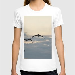 Pelicans in the Sky T-shirt