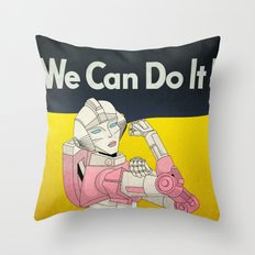 we can do it. Throw Pillow