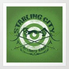 Bullseye Art Print