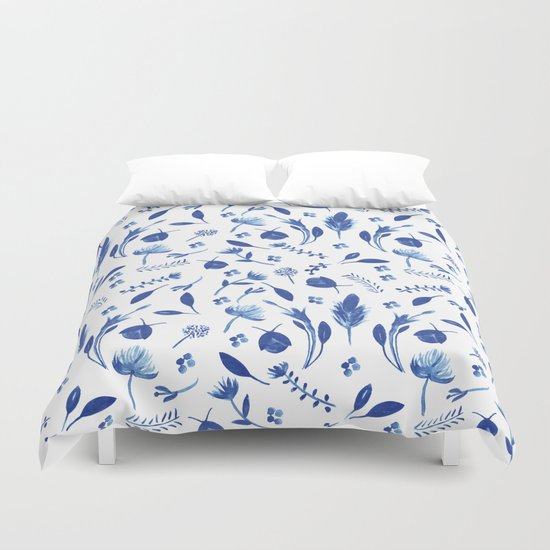 summer fields Duvet Cover