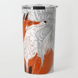 The Fox Says Travel Mug