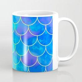 mermaid scale home design pattern Coffee Mug