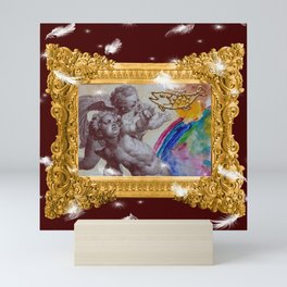 Barocco cocco choco - Variations on the theme of the Baroque Mini Art Print