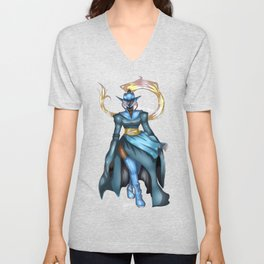 Royal Ranger - Azure Slayer: Levaiathon Unisex V-Neck