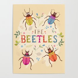 The Beetles Poster