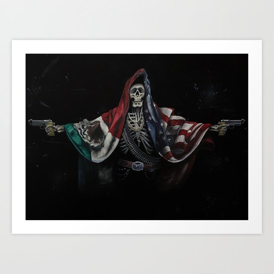 Sicario Poster Watercolor Painting by sentimint