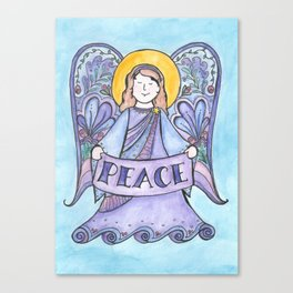 Angel of Peace (Angel Series #3) Canvas Print