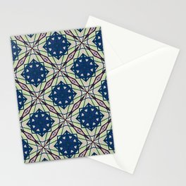 Watching the Grass Grow Kaleidoscope  Stationery Cards