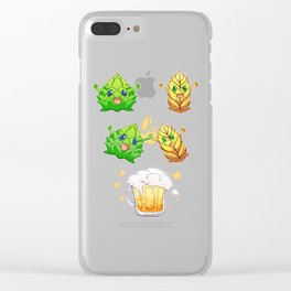 Oktoberfest Wiesen Outfit Beer Fusion Hop And Malt Clear iPhone Case