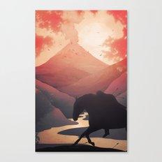 Last Farewell Ride Canvas Print