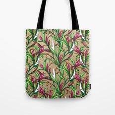 Floral Pattern Tote Bag