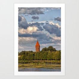 Tower of Malbork Art Print
