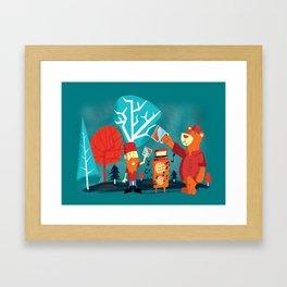 Drinking Buddies Framed Art Print