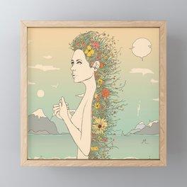 Facade of Existence (Let Life Blossom) Framed Mini Art Print
