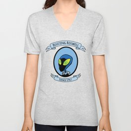 Alien Commander Unisex V-Neck