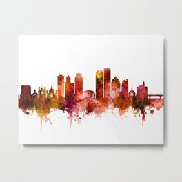 Dayton Ohio Skyline Metal Print