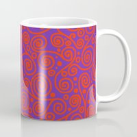 friday Mugs featuring Friday by Bunyip Designs