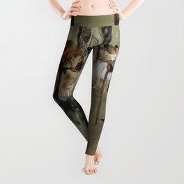 """Edgar Degas """"The Ballet Class"""" Leggings"""