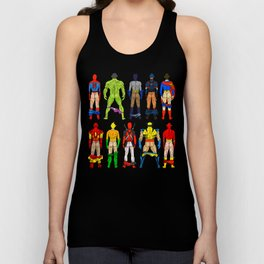 Superhero Butts Unisex Tank Top