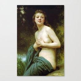 Adolphe William Bouguereau  -  La Brie Du Printemps Canvas Print