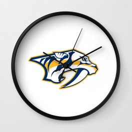 Nashville Predatorss logo Wall Clock
