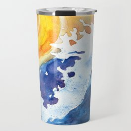 Ocean Wave Travel Mug