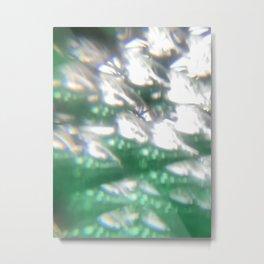 Microscopic photography experimental lens  Metal Print