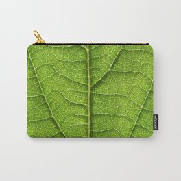 green leaf structure XII Carry-All Pouch