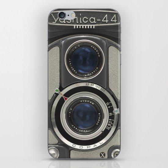 Vintage Camera (Yashica 44) iPhone & iPod Skin