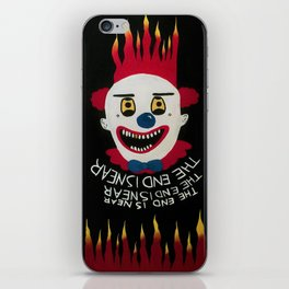 Twisty the clown iPhone Skin