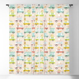 Food Trucks Blackout Curtain