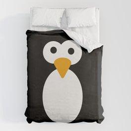 Minimal Penguin Duvet Cover
