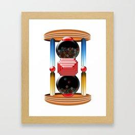 candy time Framed Art Print