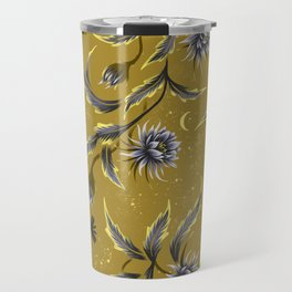 Queen of the Night - Gold Travel Mug