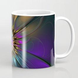 Fantasy Flower Fractal Coffee Mug
