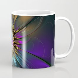 Fantasy Flower Fractal Coffee Mug