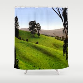 Valley of a Thousand Hills Shower Curtain