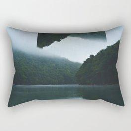Throwing Flips on the Lake Rectangular Pillow